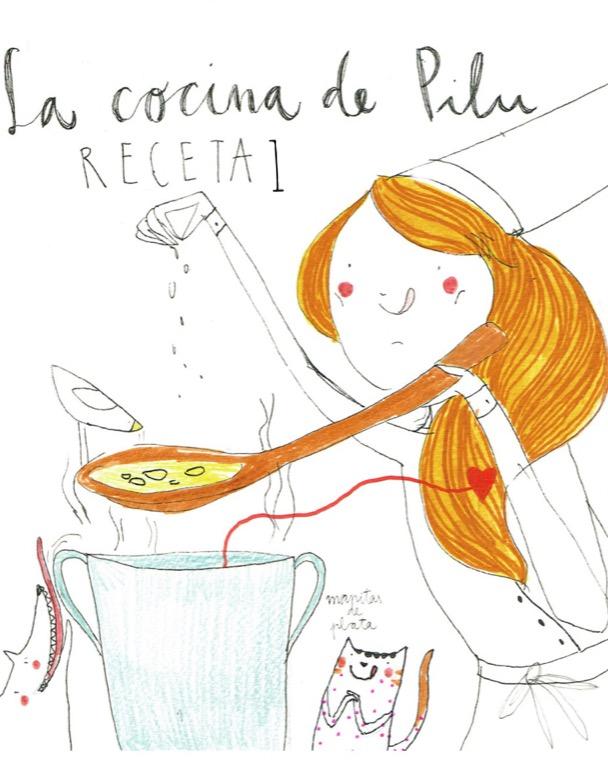 La cocina de Pilu, receta1: aprendizaje cooperativo.